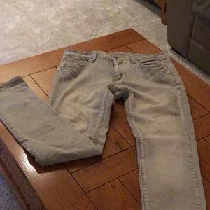 Carbon skinny men's jeans
